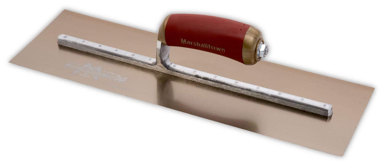 MPB145GSD Gold Edelstahl Gipser Kelle 14 x 5in Marshalltown