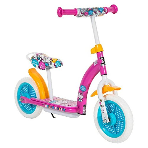 Hello Kitty 2in1 Balance Bike and Scooter - Pink (10)