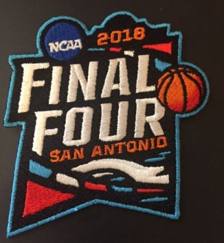 - Basketball 2018 MENS FINAL FOUR PATCH JERSEY STYLE EMBROIDERY MARCH MADNESS PROGRAM CONCEPT