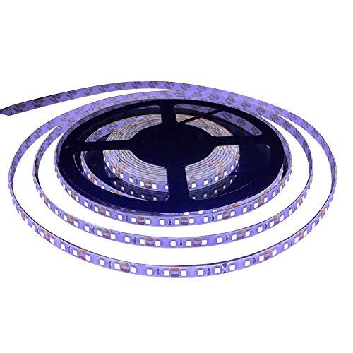 FAVOLCANO LED Light Strip, Cool White IP65 Waterproof LED Tape Light, SMD 3528, 600 LEDs 16.4 Feet(5M)LED Strip 120 LEDs/M Flexible Tape Lighting