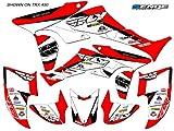 Senge Graphics 1993-2005 Honda TRX 90, 13 Fly Racing Red Graphics Kit