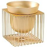 L;IAN Desktop Flowerpot Holder Golden Geometric Creative Living Room Flower Pot Rack