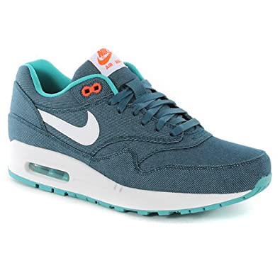 doirs Nike Air Max 1 Prm Shoes - Midnight Turquoise 108383: Amazon.co.uk