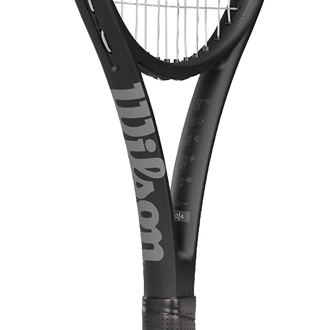 Amazon.com : Wilson Pro Staff 26 Junior Tennis Racquet Strung with Synthetic Gut Power String in White Color : Sports & Outdoors