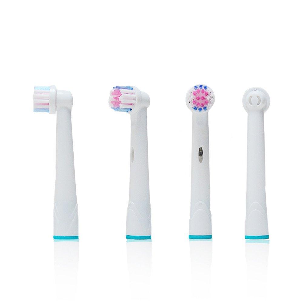 Oral B Precision Clean/Flexisoft (EB17-4) recambios. Totalmente compatibles con los siguientes modelos de cepillos de dientes eléctricos Oral-B: Vitality ...