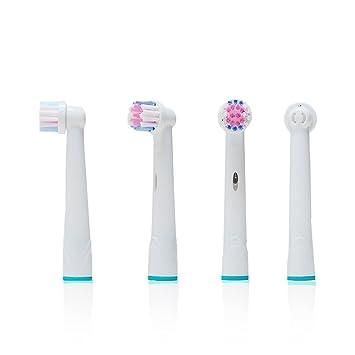 Oral-Q 12 uds. (3x4) de cabezales para cepillos de dientes .