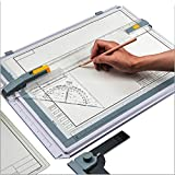 SALEMAR Inch Scale A3 Drafting Table Drawing