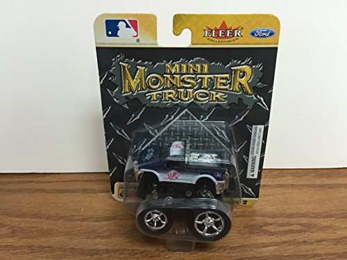 Fleer New York Yankees MINI MONSTER TRUCK with HUGE TIRES and pull back action by yankees