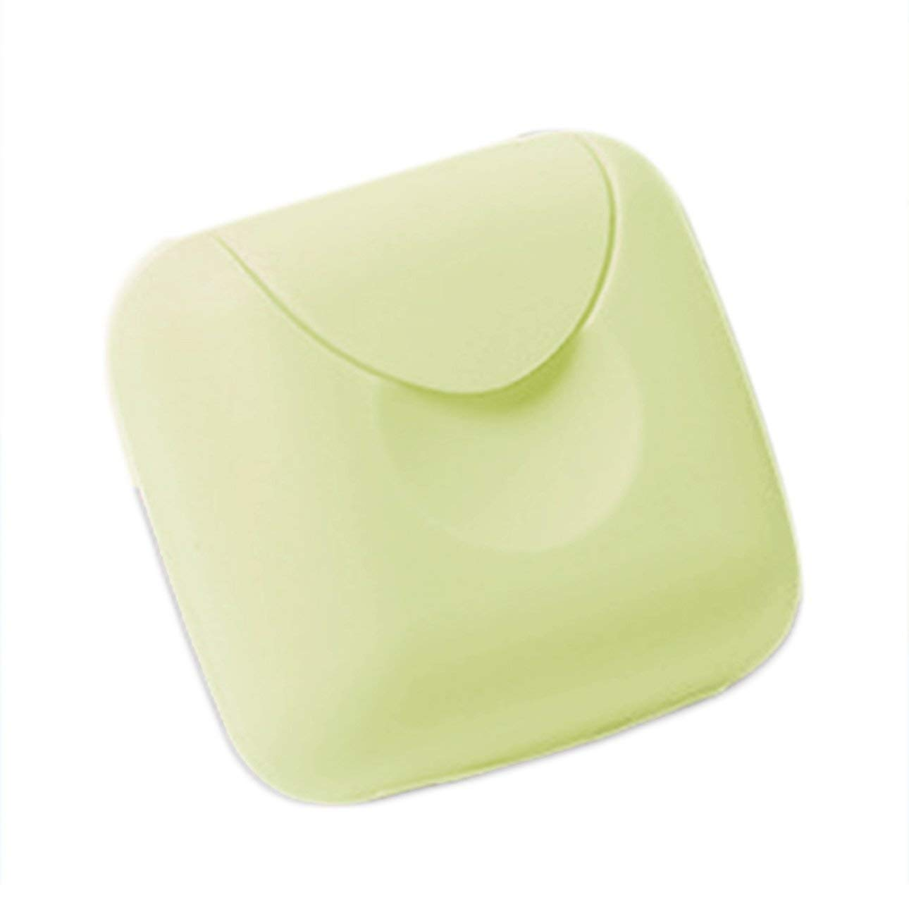 Liobaba Candy Color Removable Soap Drainers Plastic Soap Holder Container Soap Saver Box Case for Bathroom Shower Home Outdoor Travel