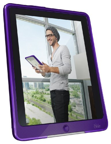 (iSkin Vu for iPad Purple)