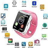Smart Watch Bluetooth Smart Watch Fitzladd A1 Pantalla táctil Smart Watch Teléfono con Ranura para Tarjeta SIM Cámara…
