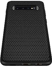 Spigen Liquid Air Armor Designed for Samsung Galaxy S10 Plus Case (2019), Matte Black