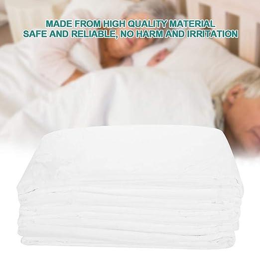 Almohadillas desechables para incontinencia, protector de colchón, 6 pzs/bolsa almohadillas desechables para incontinencia almohadillas de cama altamente ...