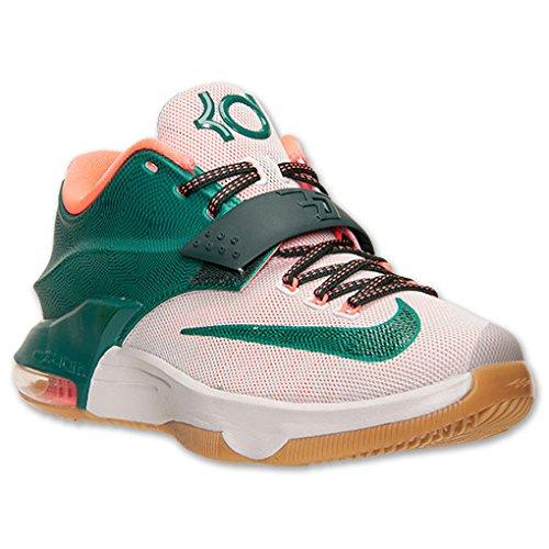 NIKE Men's KD VII Basketball Shoe (11, Mystic Green/Light Brown (653996 330))