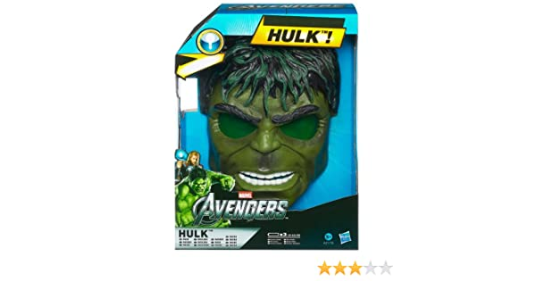 Marvel Avengers - Máscara Electrónica Hulk (Hasbro) A2176E24: Amazon.es: Juguetes y juegos
