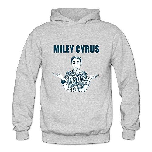 [BOOMY Miley Sexy Cyrus Women's Hooded Sweatshirt SizeXXL] (Undercover Superman Costume Women)