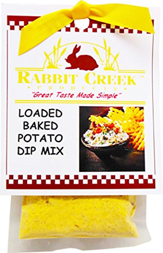 Rabbit Creek Products Loaded Baked Potato Vegetable Dip Mix, 2 Ounce
