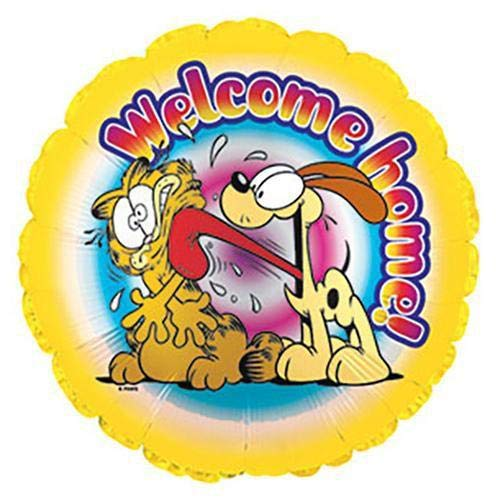 CTI Foil Balloon 115243 GARFIELD WELCOME HOME, 17
