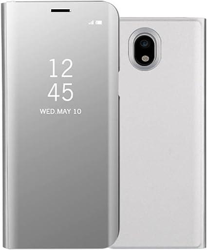 Galaxy J3 2017 móvil Espejo Cover, Samsung Galaxy J3 2017 Espejo ...