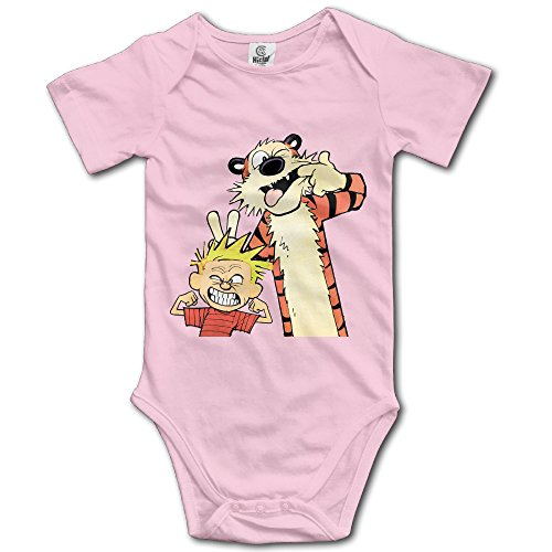 Calvin And Hobbes Snag Customed Baby Toddler Jumpsuit Cotton]()
