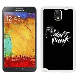 NEW Unique Custom Designed Samsung Galaxy Note 3 N900A N900V N900P N900T Phone Case With Daft Punk Chrome_White Phone Case