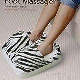 Spa Foot Massager Zebra Micro Fabric Cushion Massage, Health Care Stuffs