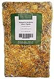 ORGANIC WHOLE CALENDULA FLOWERS 4 OZ Bag (Marigold) – USDA CERTIFIED 100% ORGANIC and KOSHER – Herbal Tea (Calendula Officinalis), Caffeine Free Irradiation Free Bulk Bag