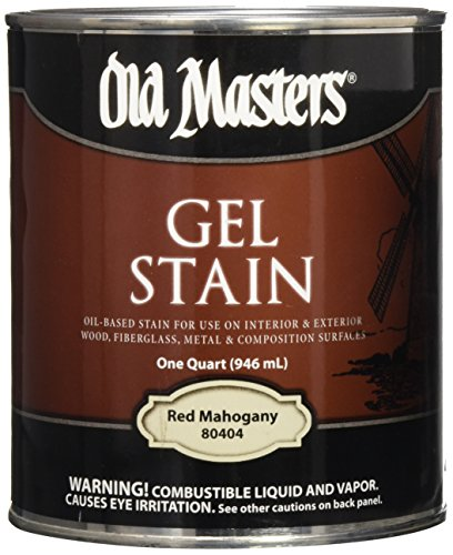 Old Masters 24994 Interior/Exterior Gel Stain Red Mahgony