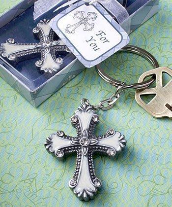 Cross design keychain favors, - Design Favors Keychain