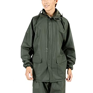 ZHANGQIANG-Traje Impermeable Chaqueta Impermeable ...