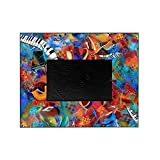 Best Sax Photo Frames - CafePress - Music Trio Curvy Piano Colorful Abst Review