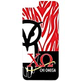 iphone 6 case chi omega - Chi Omega iPhone 6 Slim Protective Case - Red Zebra Print