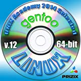 Gentoo 12 Linux DVD 64-bit Full Installation Includes Complimentary UNIX Academy Evaluation Exam