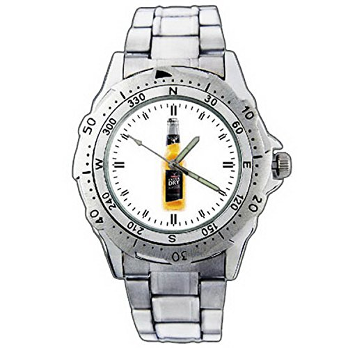 mens-wristwatches-pe01-1292-tooheys-extra-dry-platinum-beer-bottle-stainless-steel-wrist-watch