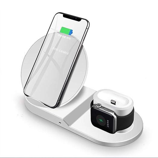 OWEM Cargador 3 en 1 para iPhone AirPods Apple Watch ...