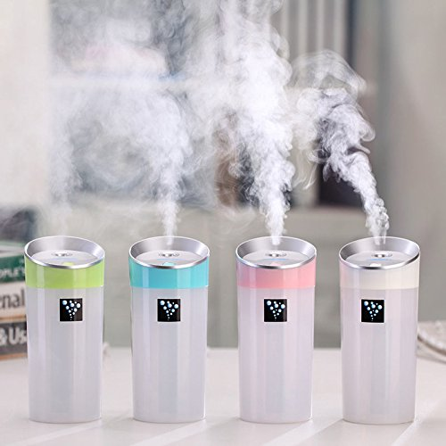 MAZIMARK--Portable Car Home USB Mini Cup Shape Humidifier Air Diffuser Aroma Mist - Outlets Uk Designer List