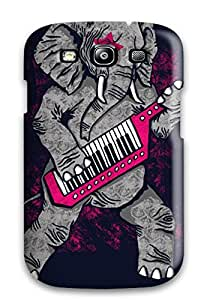 Fashion Protective Elephant Animal Elephant Case Cover For Galaxy S3