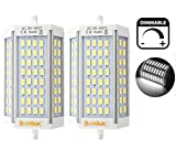type j halogen 300w - Bonlux 30W R7S J118 Dimmable Double Ended J Type LED Light Bulb R7S LED Floodlight 300W Halogen Replacement Lamp (Daylight 6000K, Pack of 2)