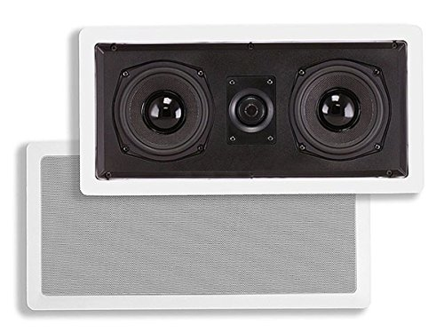 Monoprice Caliber In Wall Center Channel Speaker Dual 5.25 Inch (single) - 104881 by Monoprice