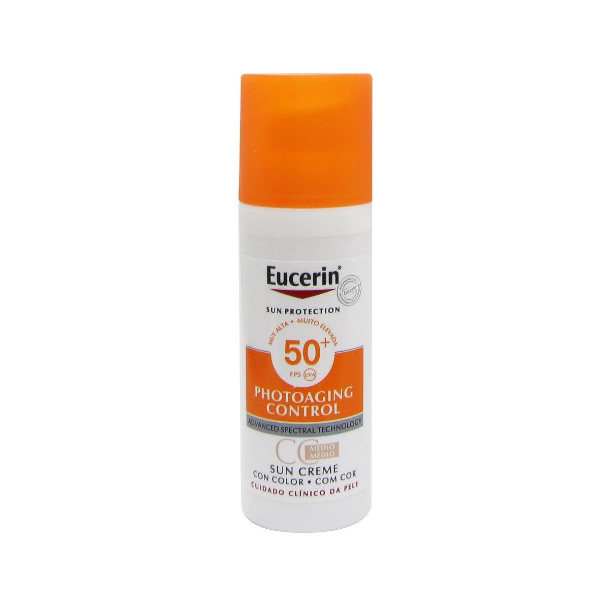 Eucerin Sun Face Tinted Cream Spf50 50ml