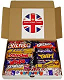 Cadbury Selection Box of 10 Full Size British Chocolate Bars From Great British Treats