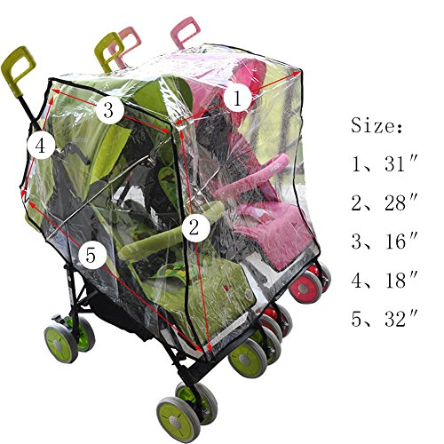 Aligle stroller Universal Size Side Baby Cover/Wind Shield