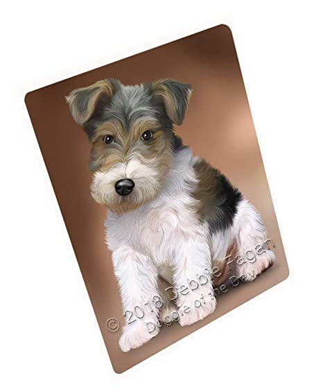 Amazon.com: Wire Fox Terrier Dog Cutting Board C62679 (Small ...