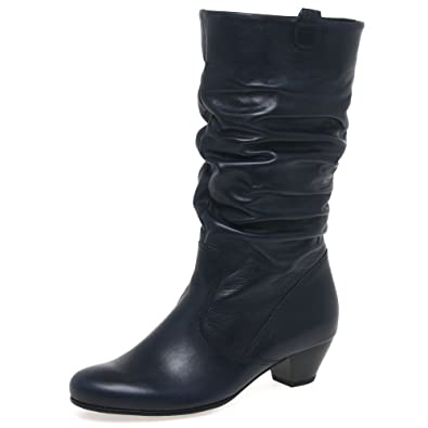 a83fda680249 Gabor Rachel Wide Calf Boots 9 River  Amazon.co.uk  Shoes   Bags