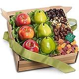 Organic Fresh Fruit, Sweets & Treats Gift Box