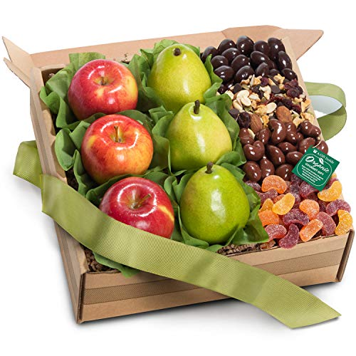 (Golden State Fruit Organic Fresh Fruit, Sweets & Treats Gift Box)
