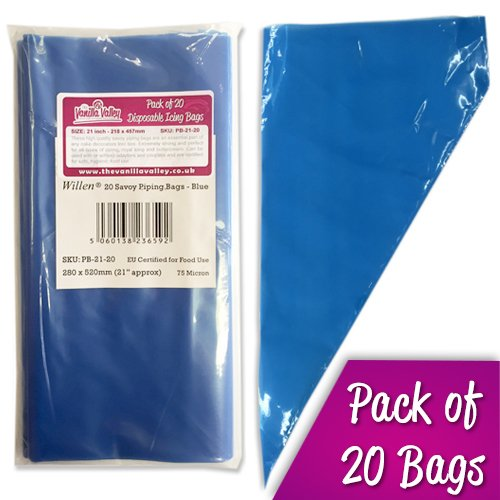 20 DISPOSABLE SAVOY ICING BAGS Bakery direct Ltd