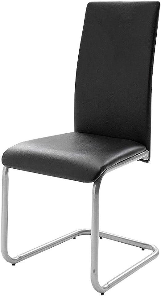 Mister Meubles Chaise de salle à manger ERIKA coloris noir