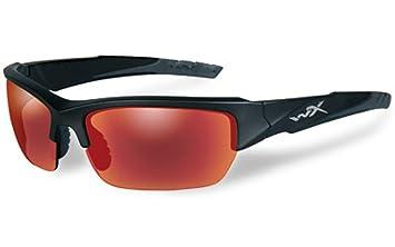Wiley X WX Valor polarizadas rojo espejo gafas de sol tácticas