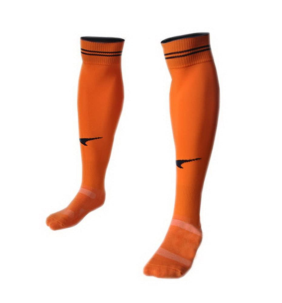 Quick Dry Orange Knee Length Football Socks for Adult PANDA SUPERSTORE PS-SPO2420111011-NORMA00001